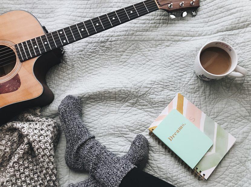 gitaar spelen en cocoonen