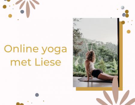 online yoga met liese